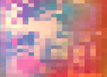 Red Pixel Glitch Background