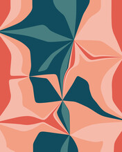 Brightly Colored Floral Inspired Pattern