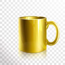 Empty Gold Mug