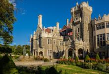 Casa Loma Museum Toronto. Beautiful Old Castle