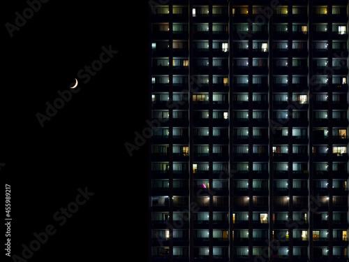 Fototapeta Moonlit night