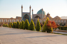 Imam Mosque In Nagesh Jahan Square, Isfahan