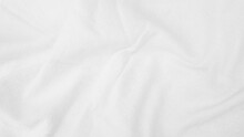 Fabric Backdrop White Linen Canvas Crumpled Natural Cotton Fabric Natural Handmade Linen Top View Background Organic Eco Textiles White Fabric Linen Texture