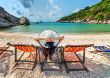 Beach, Sea, Chair, Sand, Ocean, Summer, Sky, Water, Island, Vacation, Chairs, Travel, Tropical, Relax, Nature, Table, Holiday, Resort, Coast, Sun, Landscape, Paradise, Relaxation, Thailand,