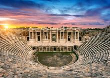 Ancient, Architecture, Roman, Amphitheater, Theater, Ruins, Stone, Turkey, Rome, Italy, History, Theatre, Travel, Jordan, Greek, Old, Antique, Jerash, Amphitheatre, Landmark,