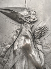 Bas-relief Of An Pope