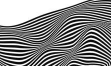 Stock Illustration Abstract Black White Color Design Pattern Optical Style Illusion Poster Wallpaper Backgound