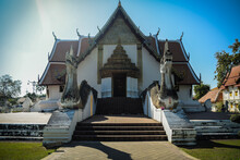 Wat Phumin Temple As Landmark And Ancient Traditional Temple In Nan Province, Thialand