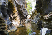 Grand Canyon Black Rock (klong Hin Dam) In Sawi District, Chumphon Province, Thailand