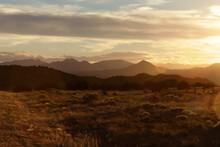 Landscape Of The Galisteo Basin, New Mexico, United States.