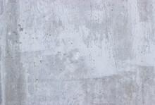 Concrete Grunge White Wall Background. Empty Texture