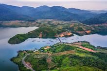 Aerial View Of Nam Ka Lake, Buon Me Thuot, Dak Lak, Vietnam