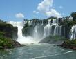 Water falls in Igazu