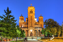 Church Of St. Mark, Belgrade, Serbia