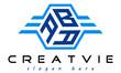 emblem badge with wings ABA letter  logo design vector, business logo, icon shape logo, stylish logo template
