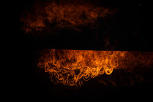 Flames With Sparks,Fire Flames Burning Red Hot Sparks Realistic Abstract Background,Fire Flames.