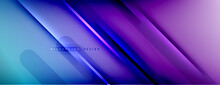 Abstract Background. Shadow Lines On Bright Shiny Gradient Background.