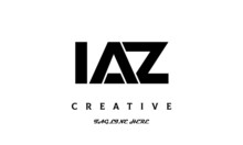 Creative Three Latter IAZ Logo Design