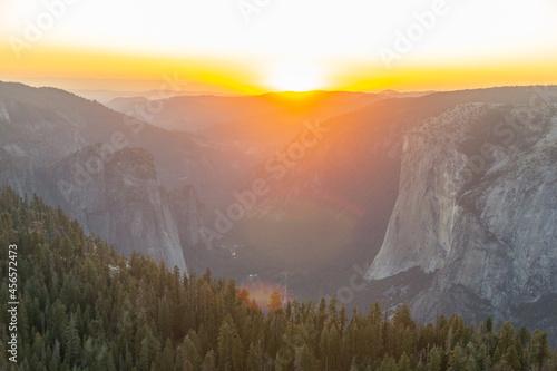 Fototapeta Yosemite Sunset