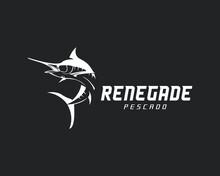 Corporate Logo Mascot Fishing Logo Design Fish Sea Vector Marine Line Lure Rod Bait Lake Animal Trout Hook