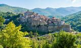 Fototapeta Perspektywa 3d - San Gregorio da Sassola, beautiful village in the Province of Rome, Lazio, Italy.