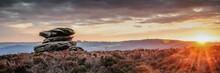 Sunset In Peak District