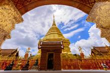 Wat Phra That Doi Suthep, Popular Historical Temple In Chiangmai Thailand