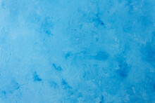 .Blue Canvas Background For Portraits Or Advertising Backgrounds