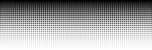Horizontal Black Square On White For Pattern And Background
