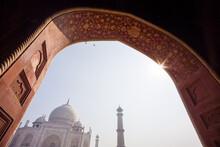 Taj Mahal In Agra With Kodak Slr/c