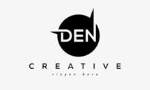 DEN Creative Circle Letters Logo Design Victor
