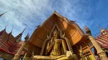 The Image Of Buddha At Wat Tham Sua, Kanchanaburi, Thailand