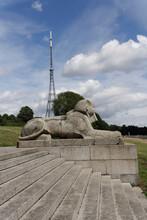 Sphynx Nd TV Transmitter Mast, Crystal Palace Park, London, UK.