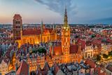 Fototapeta Miasto - Old town of Gdańsk, Poland.