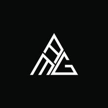 AMG Letter Logo Creative Design. AMG Unique Design