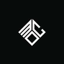 MOC Letter Logo Design On White Background. MOC Creative Initials Letter Logo Concept. MOC Letter Design.