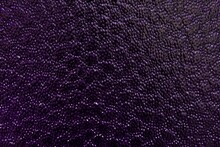 Bumpy Texture Purple Colored Glass