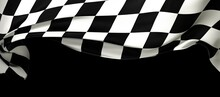 Background Of Checkered Flag Pattern