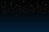 Fototapeta Niebo - Nocne niebo