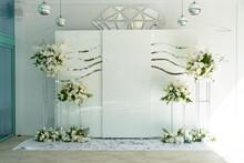 Delicate White Photo Area For Brides