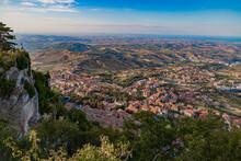 Panoramic View Of  San Marino