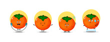 Cute Persimmon Character Collection