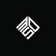 MOS Letter Logo Design On White Background. MOS Creative Initials Letter Logo Concept. MOS Letter Design