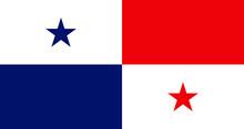 Panama Flag National Emblem Graphic Element Illustration Template Design