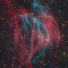 The Planetary Nebula PaStDr 8 / The Bärenstein Nebula And The Supernova Remnant G354-33