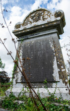 Historical Cemetery In Limerick, Ireland, A Place Of Worship Of Ancient Years