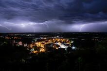 Tempestade Em Seia, Portugal