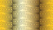 Dot Striped Pattern. Polka Dots Background. Vector Illustration.