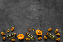 Apricot Kernel Oil With Apricots And Dried Apricot Kernels