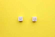Choose Between Emotions In Life, Happy And Sad, Choose The Positive.